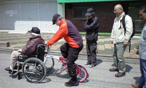 車椅子自転車