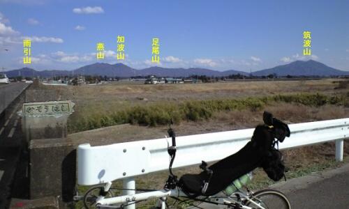 小貝川加草橋からの風景