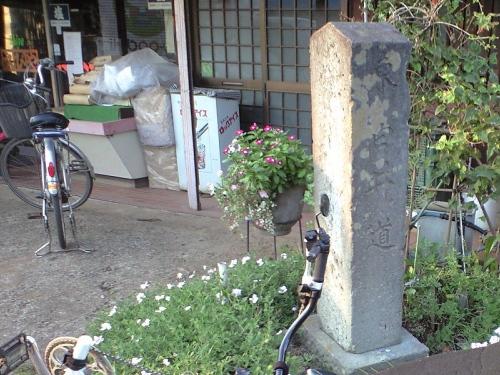 えびや商店と白井道の標
