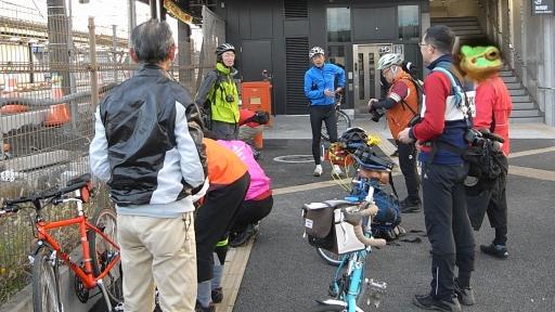 やさと茅葺きサイクリング(岩間駅)