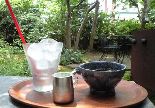 カフェ・アンティグアの庭