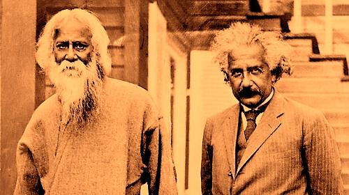 タゴールとアインシュタイン