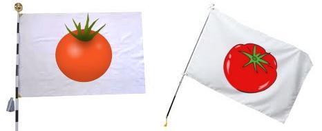トマト国旗(新日の丸国旗)