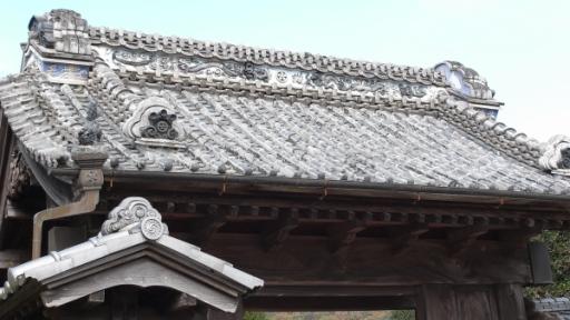 八郷上青柳地区(薬医門)
