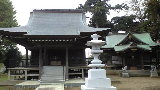 別所地蔵尊と熊野神社(印西市)