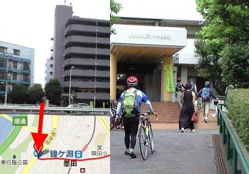 墨堤通りと古代東海道