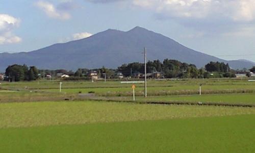 小貝川60km付近から見た筑波山02