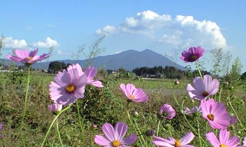 小貝川60km付近から見た筑波山01