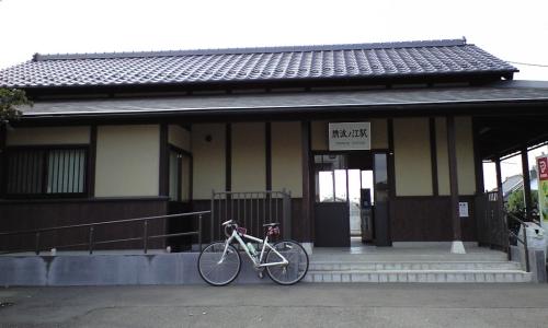 常総線騰波ノ江駅