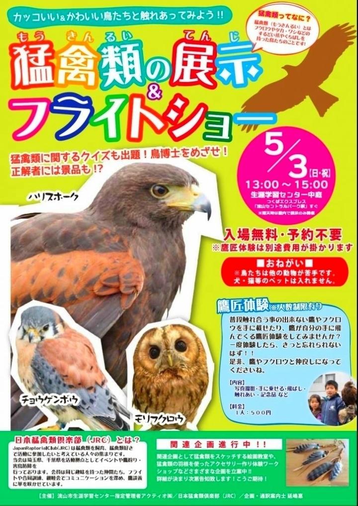 猛禽類の展示&フライトショー(流山市).jpg