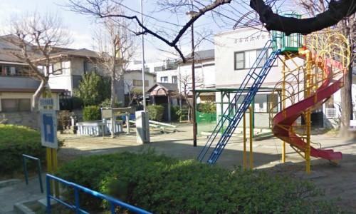 児童公園にひっそり佇む立石様