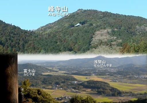 西光院と八郷の集落