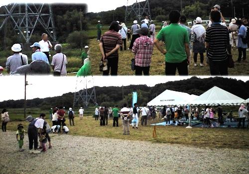 野田自然共生ファーム(江川地区)の収穫祭