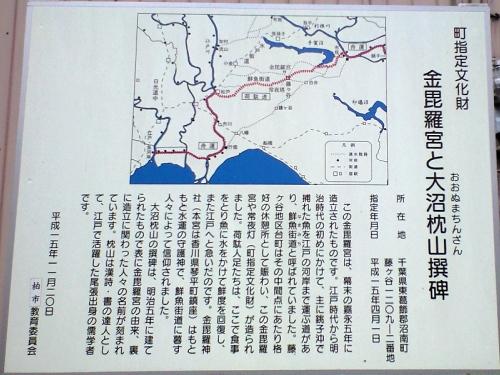 鮮魚道(藤ヶ谷の金毘羅宮)