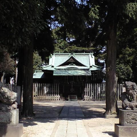 野田市上花輪の香取神社