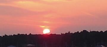 おおたかの森の夕日と富士山02