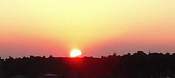 おおたかの森に沈む夕日02