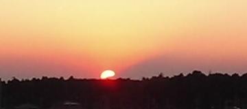 おおたかの森に沈む夕日03