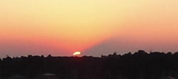 おおたかの森に沈む夕日04