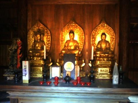 竜禅寺三仏堂 尊影