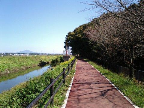 西仁連川と逆井城