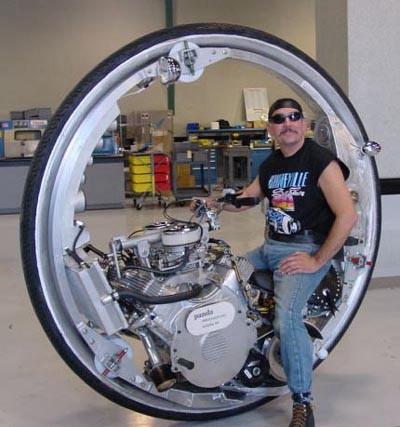 一輪モーターサイクル