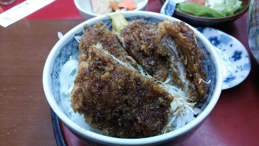 ミニヒレカツソース丼(四ツ六庵)