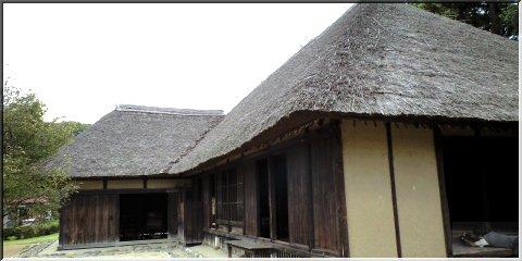 古河市総合公園の旧飛田住宅