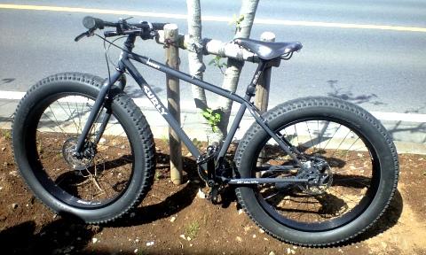 サリーの自転車