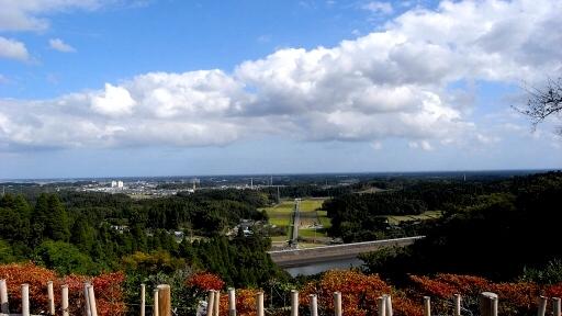 昭和の森からの眺望