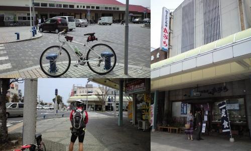 銚子駅前のかみち