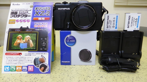 オリンパス XZ-2と装備品(アクセサリー).jpg
