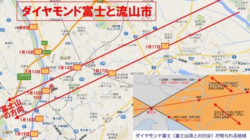 ダイヤモンド富士と流山市.jpg