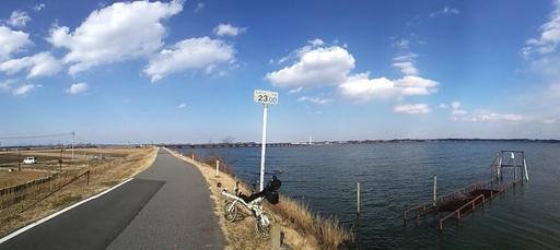 中岸(西浦)23km地点.jpg