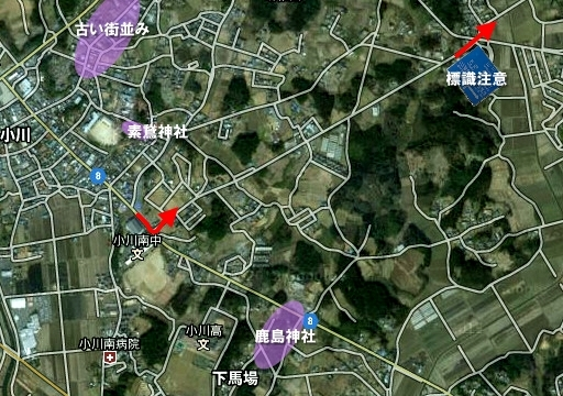 小川南中から百里基地正門(北門)へ.jpg