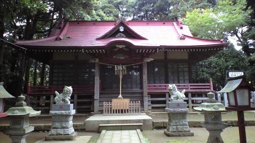 小林の鳥見神社(印西市)
