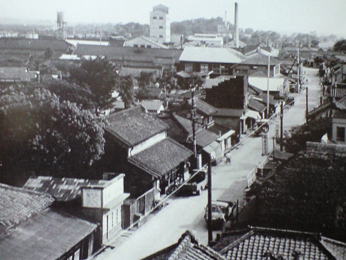 昭和30年代の流山本町(根郷)01