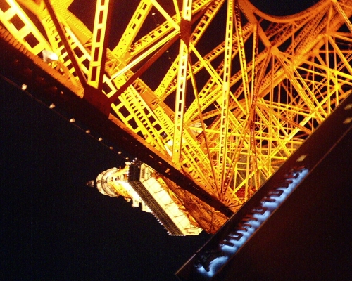 東京タワー 直下