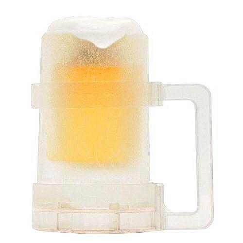 氷のビアジョッキグラス