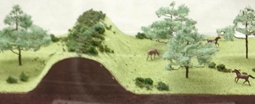 野馬除土手の模式