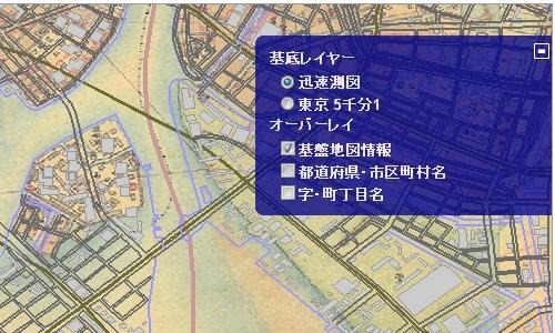 関東平野迅速測図その2