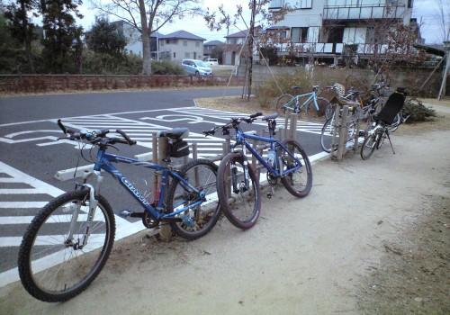 高野山桃山公園の自転車