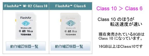 FlashAir動作確認機種 16GBと8GB.jpg