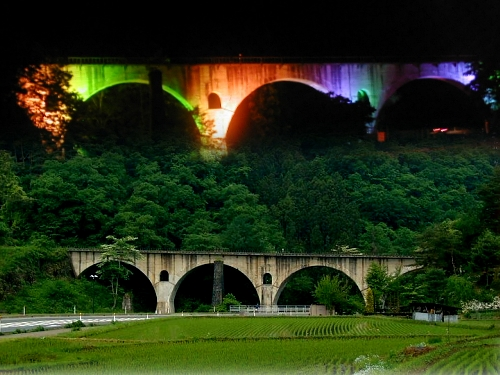Galaxy Bridge 宮守川橋梁