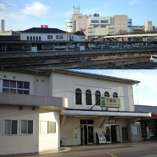 JR下館駅(北口)