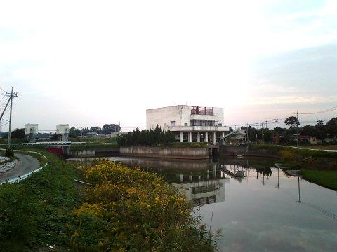 飯沼川幸田新排水機場