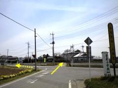 弘経寺への裏道